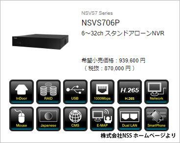NVRの例